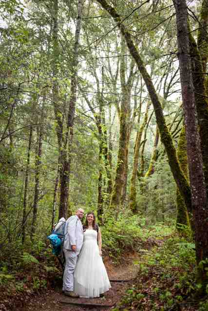 Eloping Santa Cruz Redwoods
