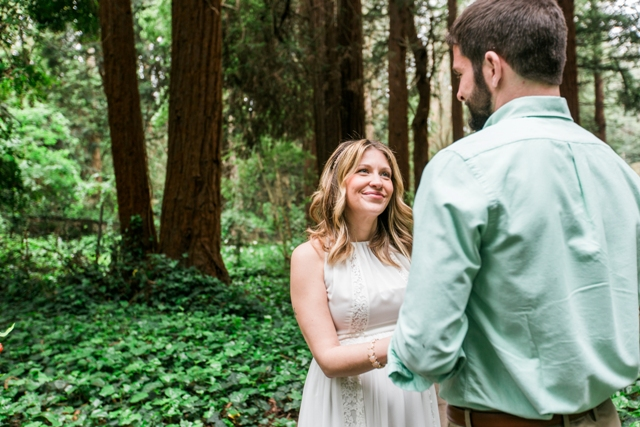 wedding in the redwoods san francisco