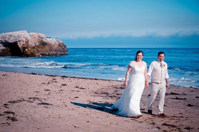 post-wedding-walk-on-the-beach-santa-cruz