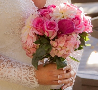 beach-wedding bouquet