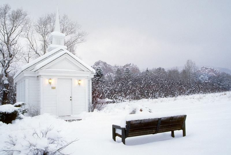 Colorado Winter Wedding Chapel