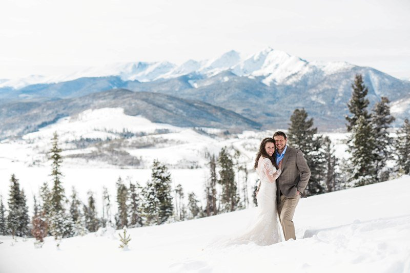 Winter Wedding Colorado