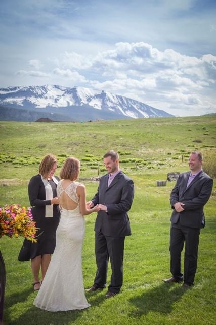 Crested E Wedding Ceremony
