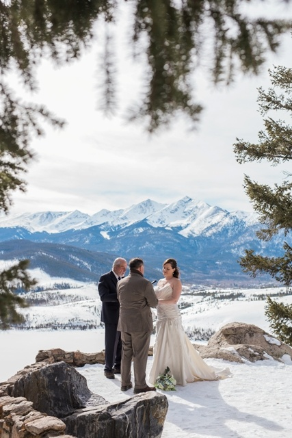 Married In The Snow Colorado