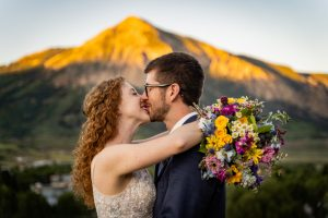 Crested Butte Wedding Package couple