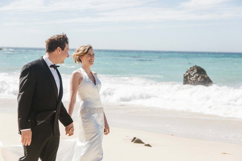 A Sur Beach Wedding For Elena And Marty