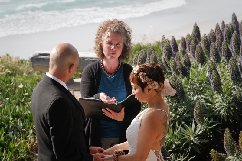 california-beach-elopement-vows