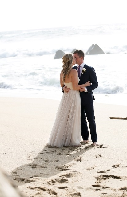 getting married on the beach in California