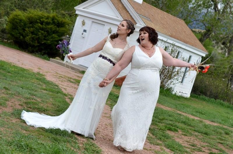 Brook And Amy S Colorado Destination Wedding