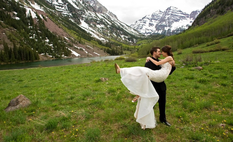 Maroon Bells Wedding