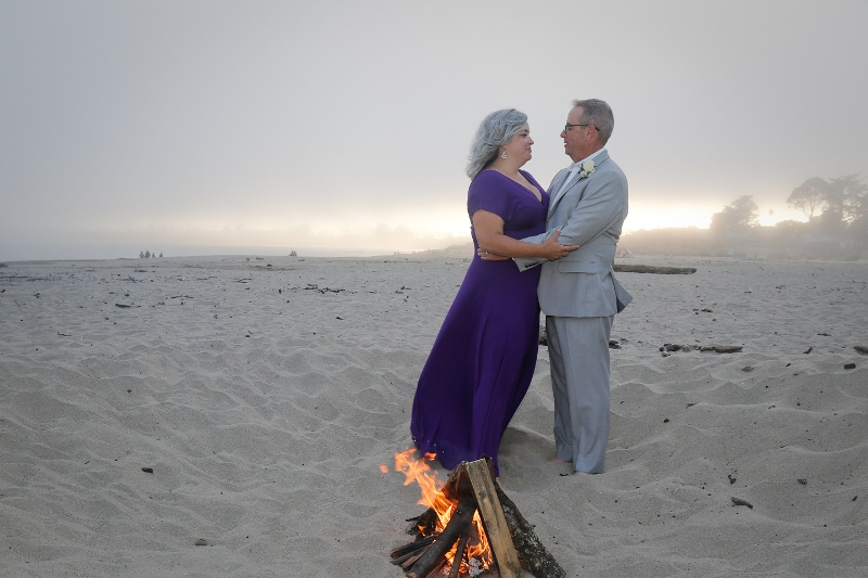 Eloping In California On The Beach