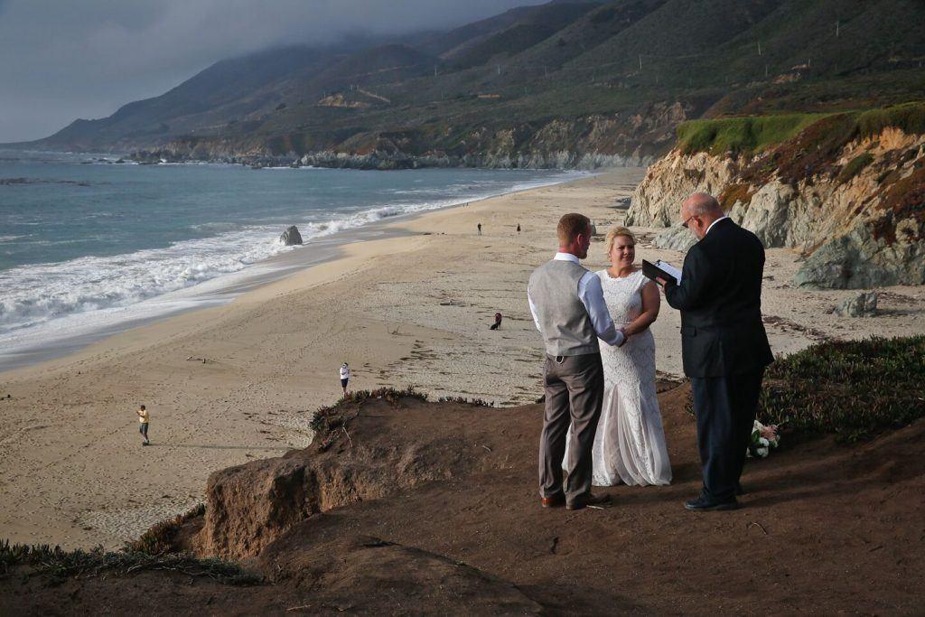 monterey beach wedding