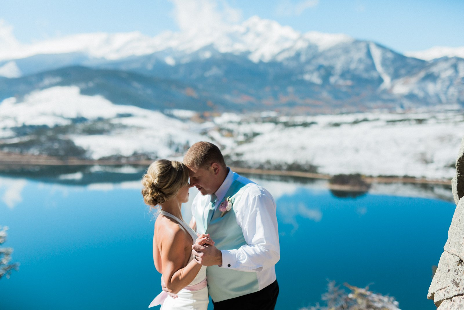 Colorado mountaintop elopement