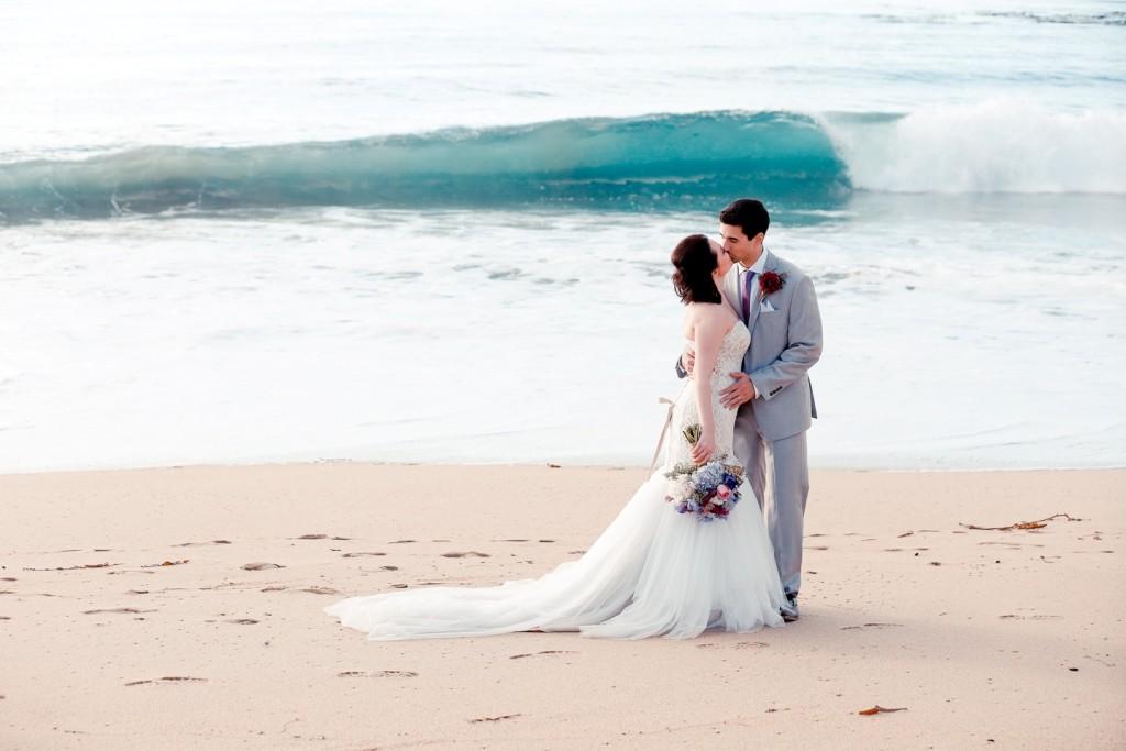 California coast destination wedding