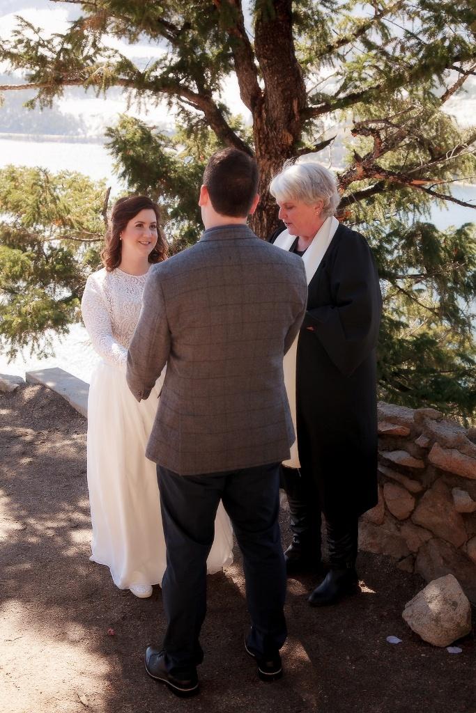 married - Colorado destination wedding