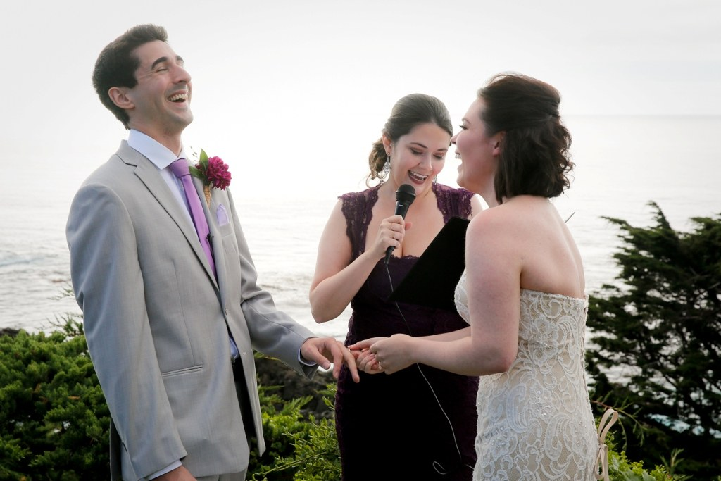 wedding laughter
