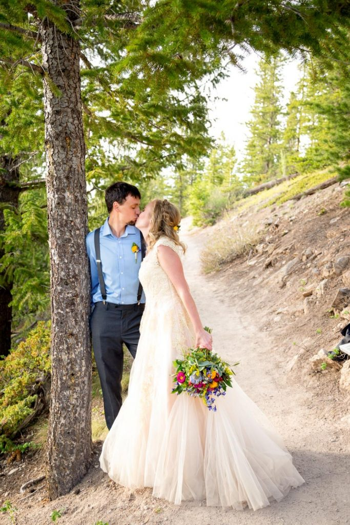 Breckenridge elopement wedding
