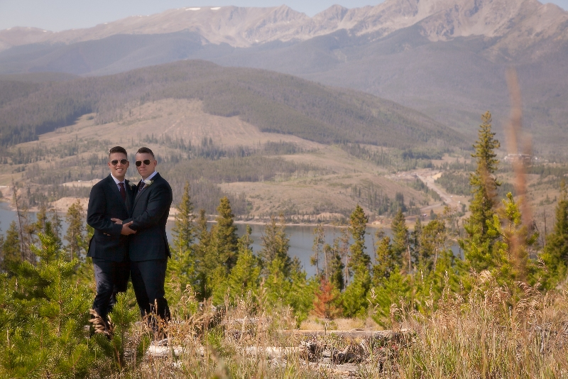 intimate wedding in Breckenridge