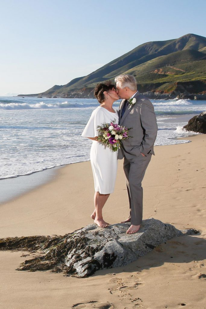 California elopement on a Southern California beach