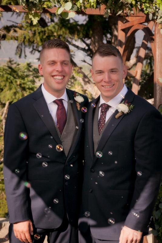 intimate Breckenridge wedding