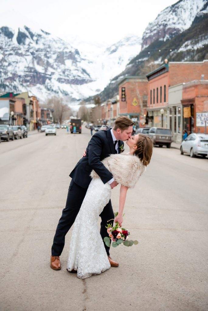 downtown Telluride elopement