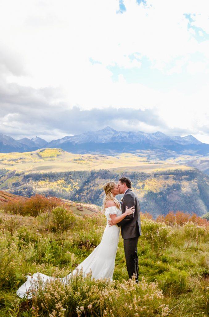 Telluride elopement on the mountain