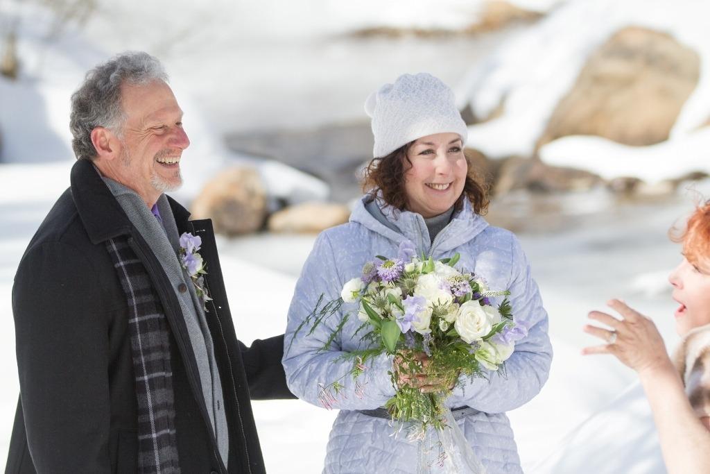 aspen winter elopement