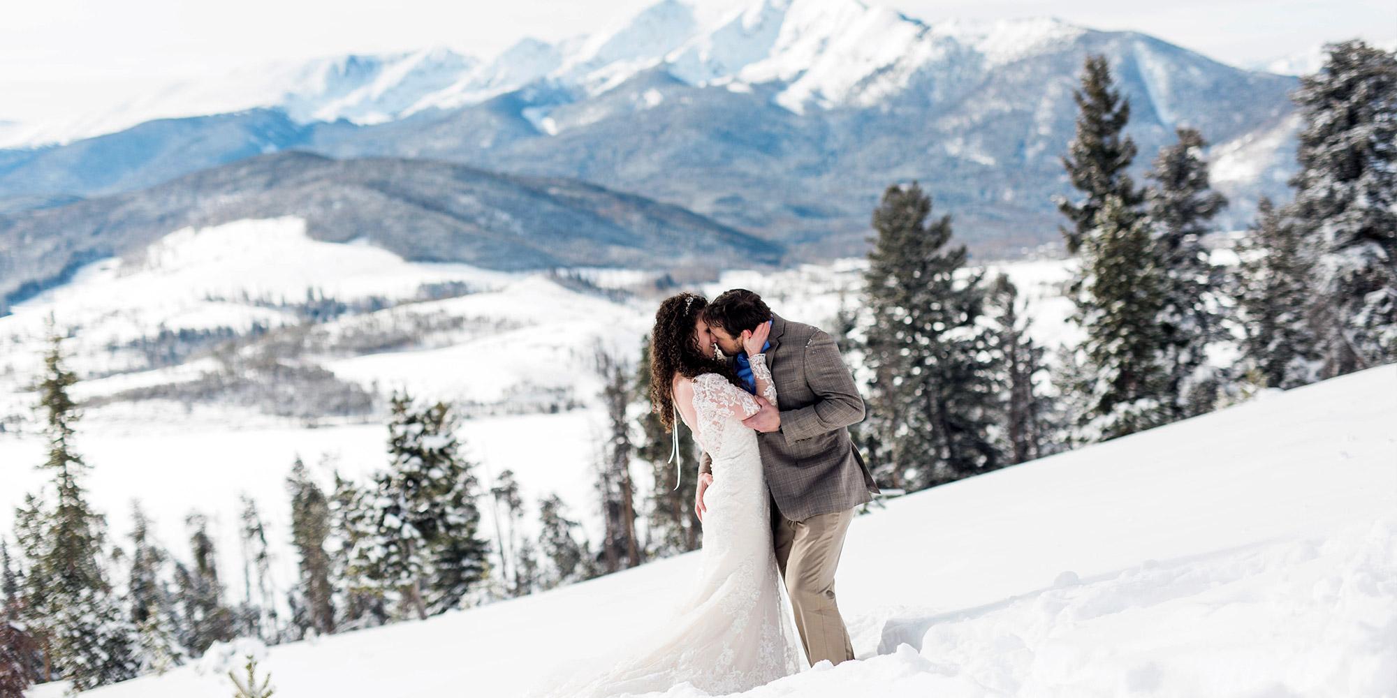 Colorado Winter Weddings Blue Sky Elopements