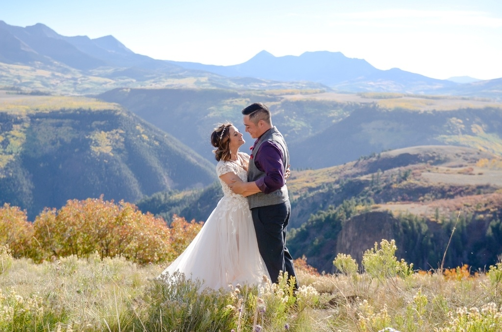 best place to elope in Telluride Colorado