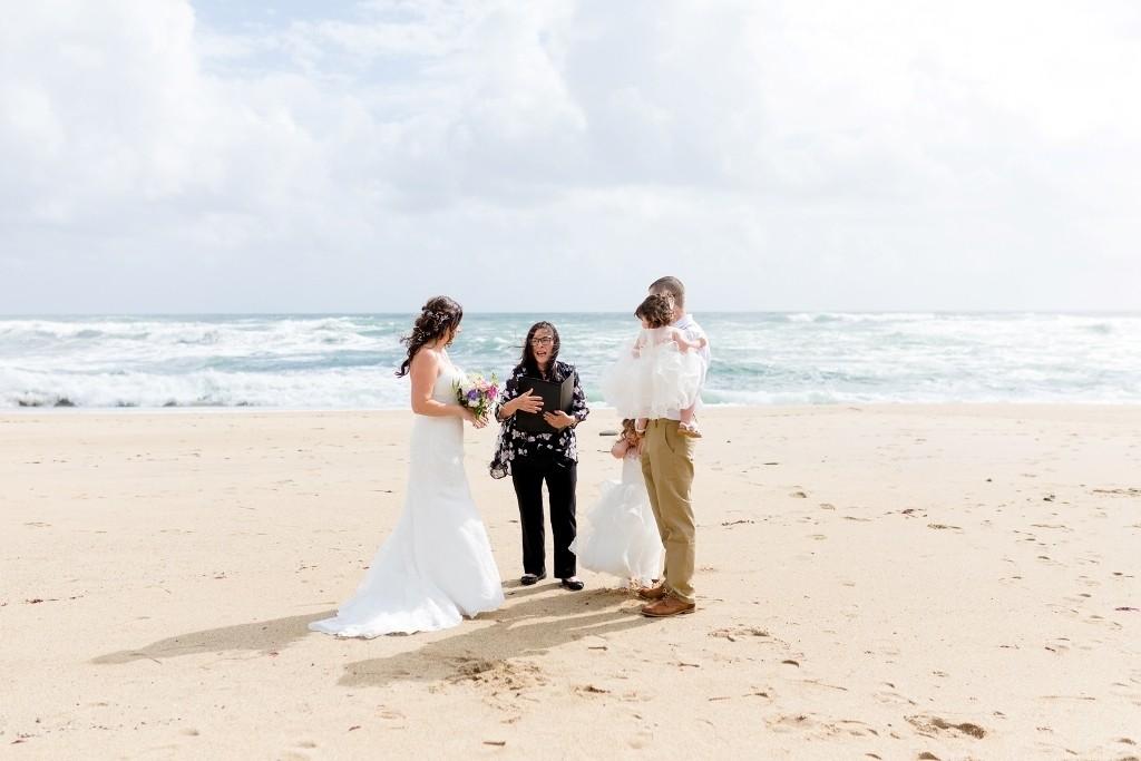 beach elopement in Santa Cruz