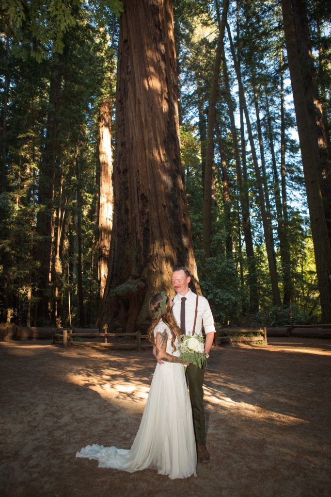 eloping northern California redwood empire