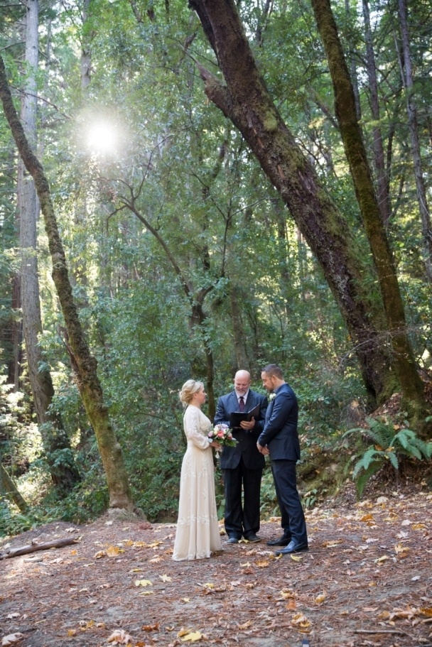 married in the redwoods
