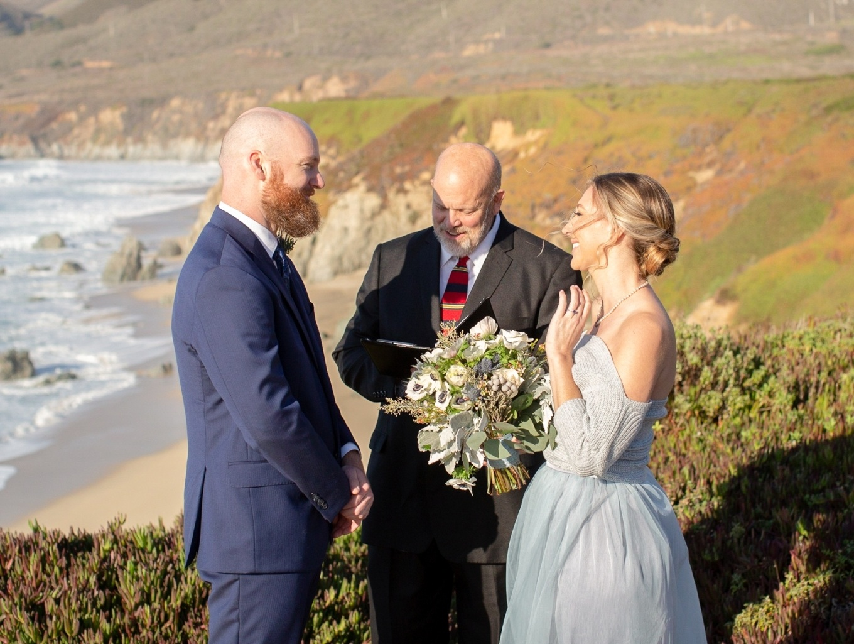 big sur wedding ceremony