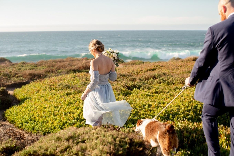 Big Sur cliffside elopement