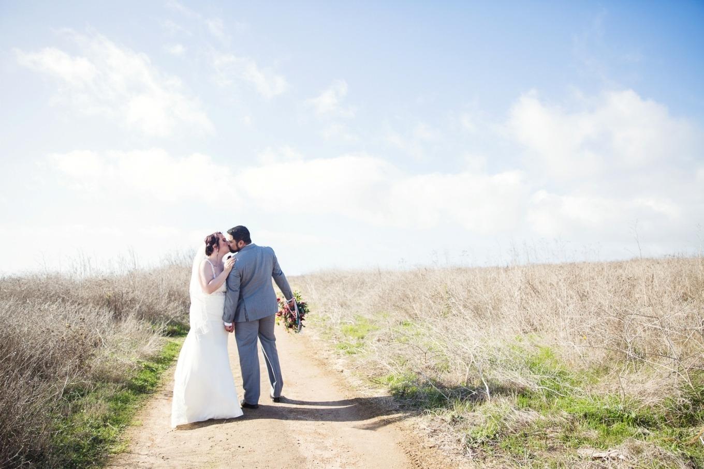 eloping on the cliffs of Santa Cruz