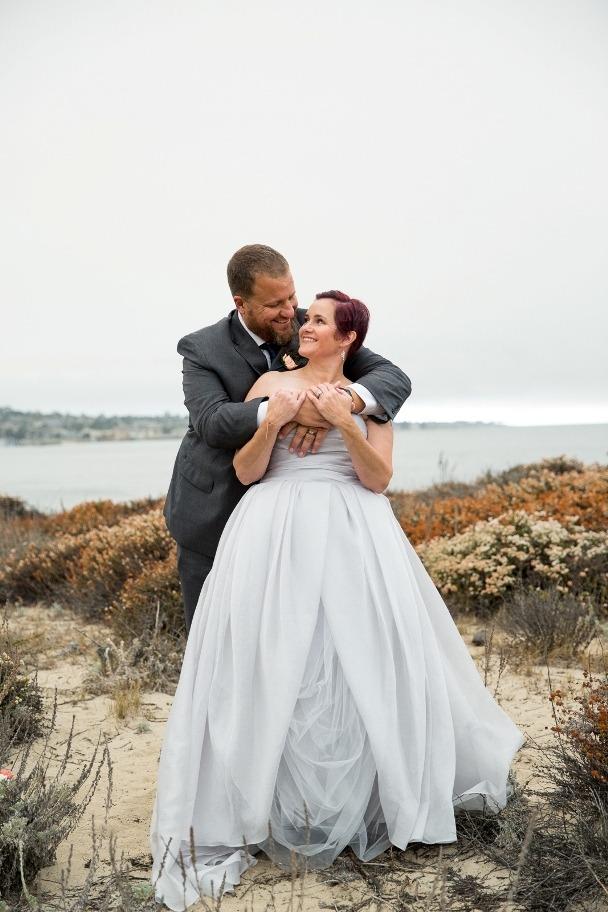 first look - Monterey elopement