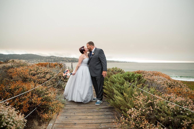 Monterey beach elopement