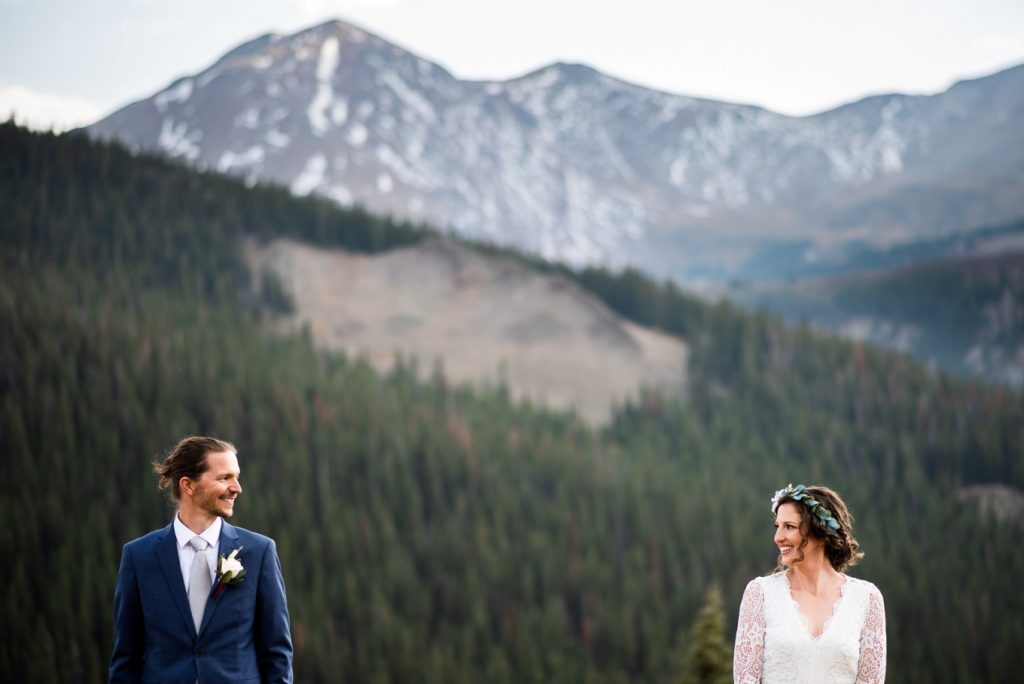 aprt but together - Boreas Pass elopement