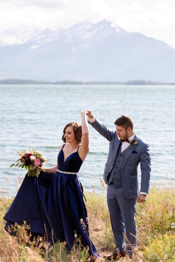 dancing on the shore Dillon Reservoir