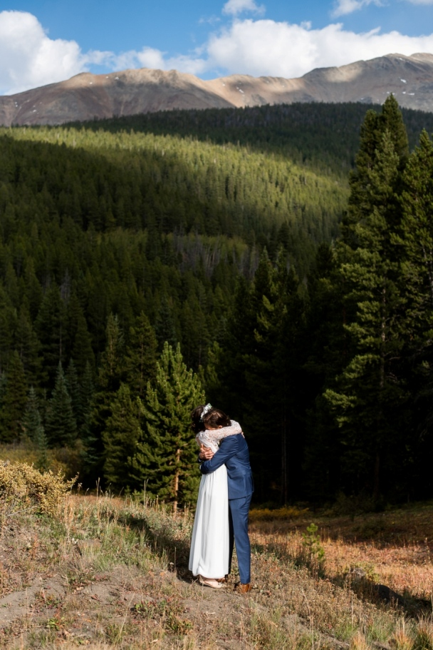 Julia and Kyle's first look at Boreas Pass
