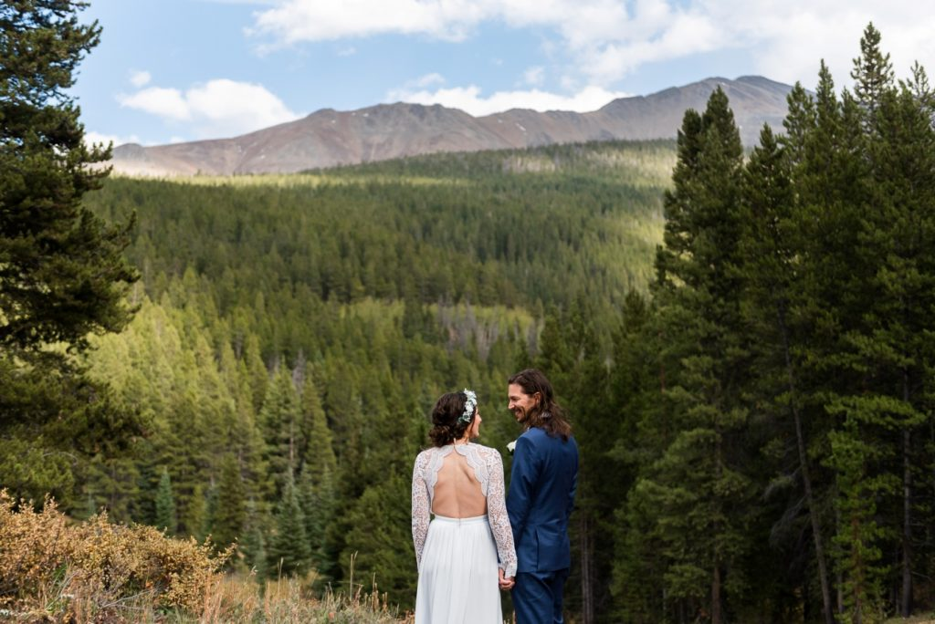 eloping in the Rocky Mountains