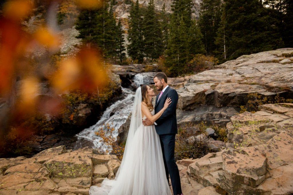 Annie and Justin's autumn Breckenridge wedding