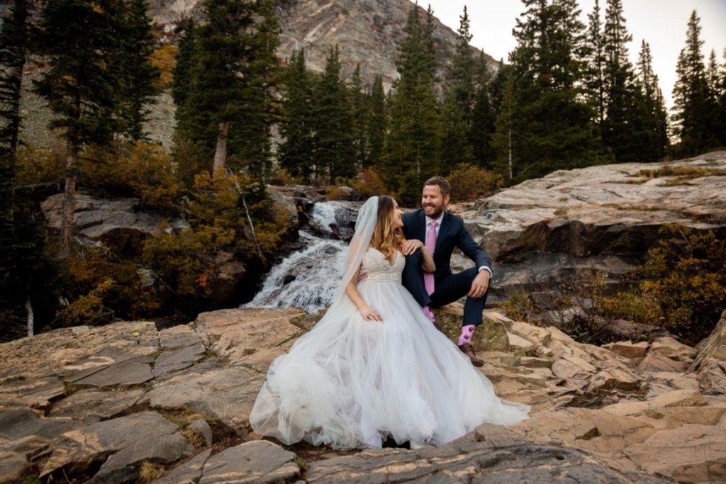 att he waterfall - Breckenridge, Colorado